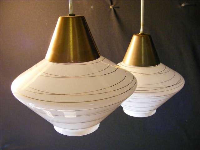 vintage mcm mid century modern ceiling fixture pendant lamp light