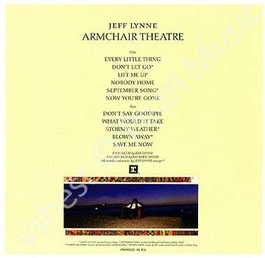 JEFF LYNNE ARMCHAIR THEATRE CD MINI LP OBI | eBay