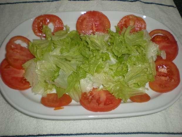 Lechuga y tomate